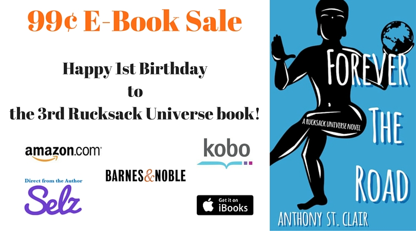 99¢ FOREVER THE ROAD Birthday Sale