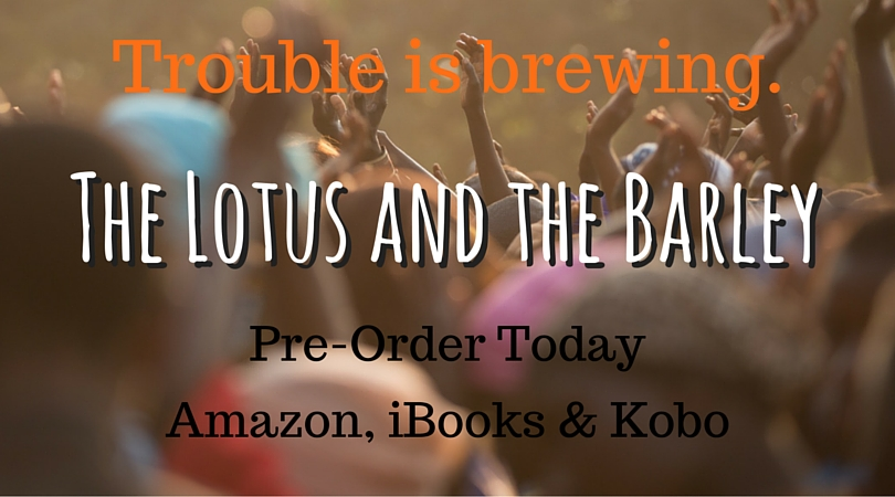 Pre-order THE LOTUS AND THE BARLEY, available June 16